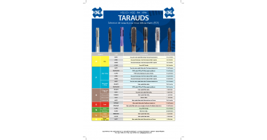OSG SELECTION TARAUDS